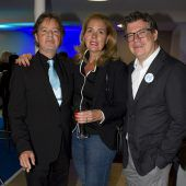 <p>Vorstand Günter Bucher (l.), Stephanie Waldburg-Zeil und Dieter Heidegger.</p>