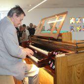 Neue Orgel erklang zu Pfingsten