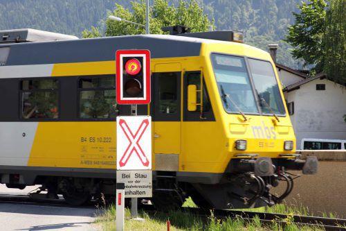 Wegen Instandhaltungsarbeiten entlang der Montafonerbahn ist vom 14. bis 18. Mai jeweils von 20 Uhr bis Mitternacht ein Schienenersatzverkehr eingerichtet.