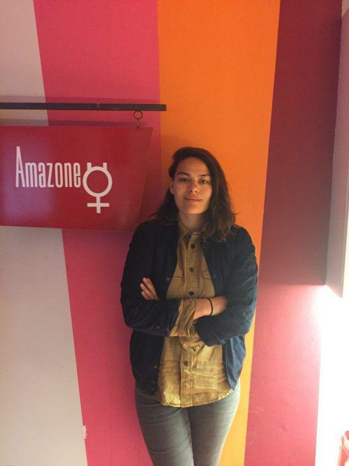 Xenia Dürr kam schon als junges Mädchen gerne in das Mädchenzentrum Amzone. ger