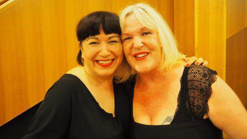 Zuerst standen sie zusammen unter der Dusche und jetzt gemeinsam auf der Bühne, Barbara Balldini und Mika Blauensteiner. Christof Egle