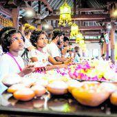 Der Eckzahn Buddhas liegt in Kandy