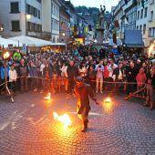 Ritter und Burgfräulein erobern Feldkirch