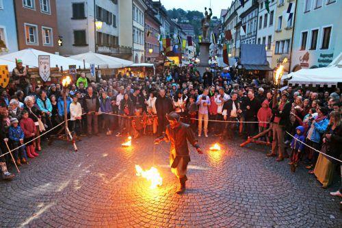 Zurück in die Gründerzeit Feldkirchs geht es beim Montfortspektakel. ETU