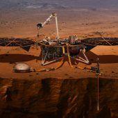 Geologie-Expedition auf dem Mars