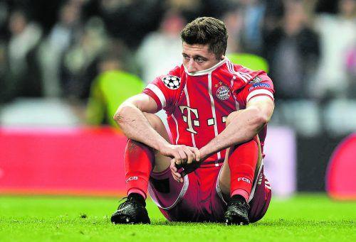 Zweimal die bessere Mannschaft, dazu die größere Anzahl an Chancen, doch die Bayern sind raus – und die Enttäuschung bei den Spielern riesengroß.afp