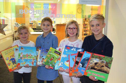 400 Lochauer Kinder sorgten mit 16.000 Entlehnungen für eine tolle Bilanz. bms