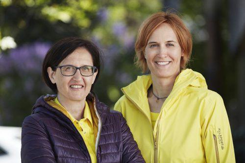 Alexandra (l.) und Kathrin Ludescher haben Allsport auf drei Beine gestellt.FA