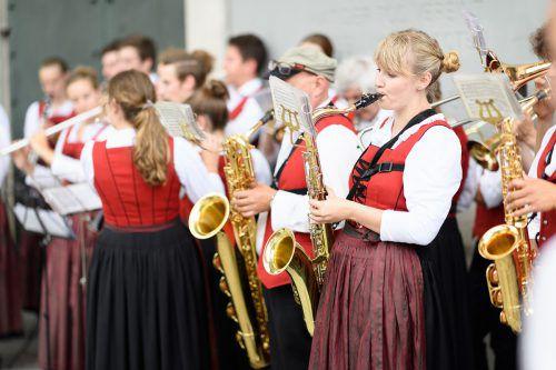 Am kommenden Freitag, 22. Juni, ertönt am Marktplatz Blasmusik. Stadt