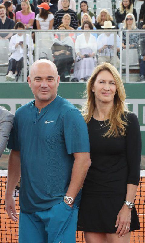 Andre Agassi und Steffi Graf sind seit 17 Jahren verheiratet. AFP