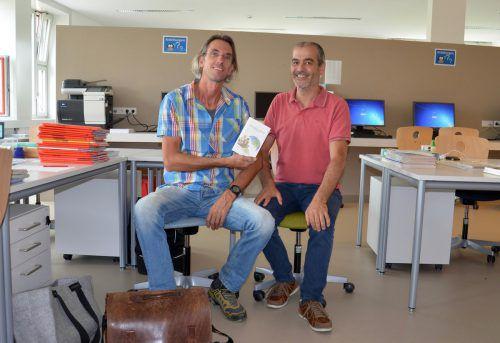 Andreas Wassner (links) erzählt aus seinem abwechslungsreichen Leben.
