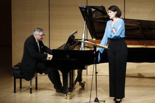 Anja Harteros beim Liederabend in Schwarzenberg. Schubertiade