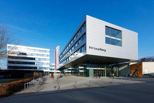 Ansturm auf die technischen Studiengänge der FH Vorarlberg. FA/Hagen