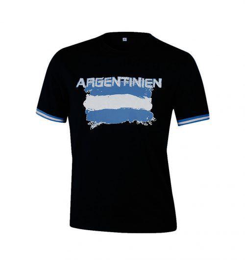 Argentinien             Argentinien-Fans können ihrer Mannschaft mit diesem Shirt von Intersport die Daumen drücken.
