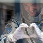 Astro-Alex auf dem Weg zur ISS