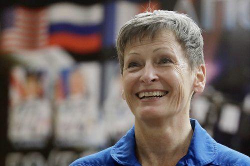 Astronautin Peggy Whitson war insgesamt 665 Tage im Weltall. AP