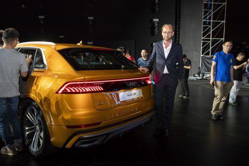 Audi-Chefdesigner Marc Lichte im VN-Gespräch über den neuen Q8.