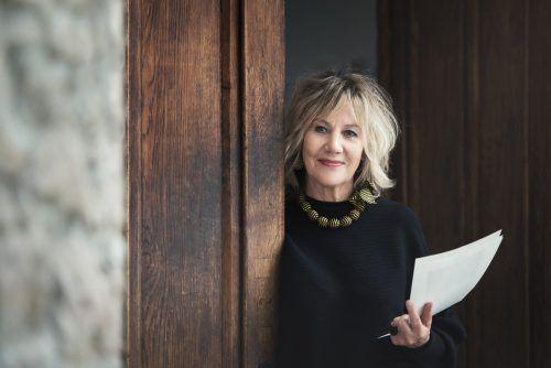 """Autorin Evelyn Brandt vermittelt bei """"Storytelling"""" an der Volkshochschule Bludenz die Kunst des Geschichtenerzählens. Aiello"""
