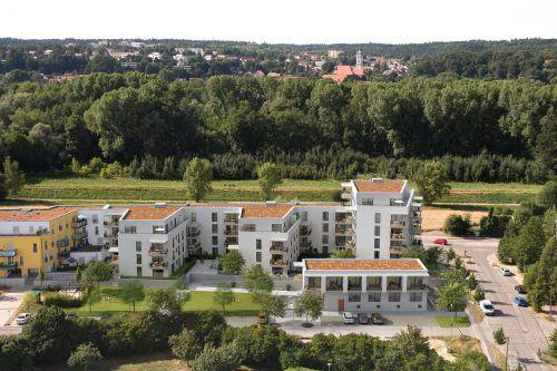 Begehrte Wohnungen hat Zima im Speckgürtel der bayrischen Hauptstadt München errichtet: das Finkennest in Freising. Fa