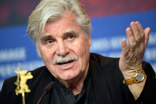 """Bei der heurigen Berlinale ist der """"Dolmetscher"""" mit Schauspieler Peter Simonischek im Special-Bewerb gestartet. AFP"""