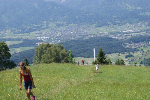 Bergwandern für den guten Zweck ist am Dünserberg angesagt. VN