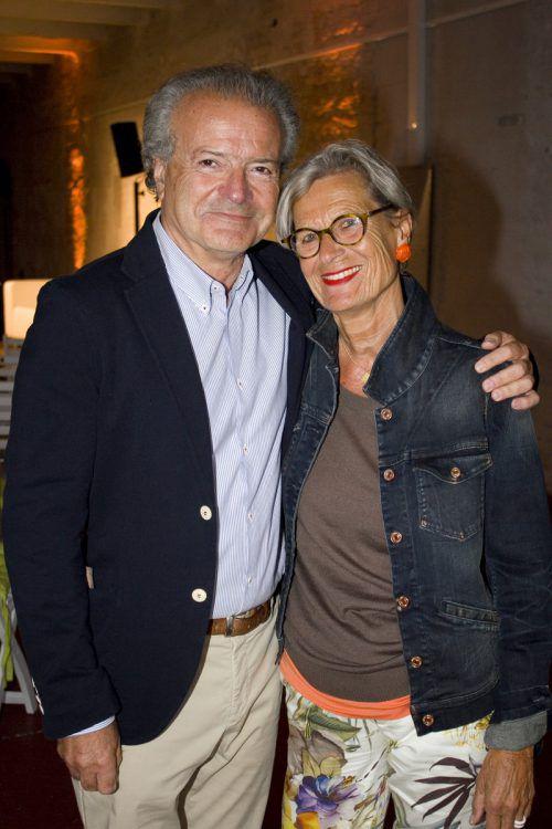 Bernd Leisner und Renate Schade zählten zu den Gästen.