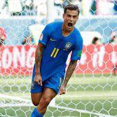 Selbstbewusste Serbenfordern Brasilien