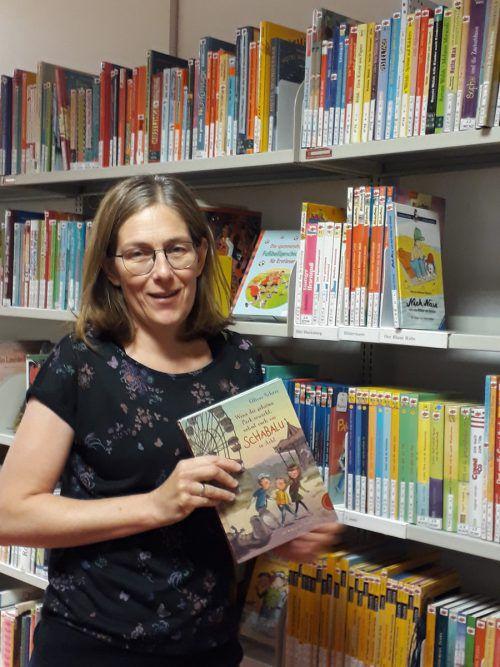 Bibliotheken sind für Barbara Allgäuer-Wörter der ideale Ort, um an das Thema Lesen heranzuführen. Allgäuer-Wörter