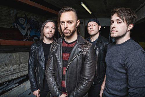 Bullet For My Valentine zählen zu den größten Bands im Metalcore-Bereich. bullet for my valentine