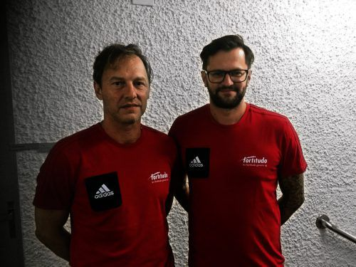 Cheftrainer Markus Klemencic (l.) und Cotrainer René Ulmer. Verein