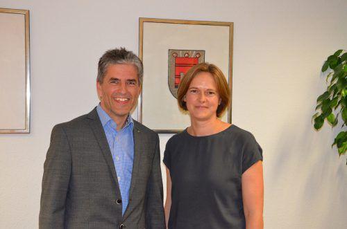 Christina Rusch als Direktorstellvertreterin und Stefan Simma als Direktor übernehmen ab 1. Jänner 2019 die Geschicke der Landwirtschaftskammer.LKV