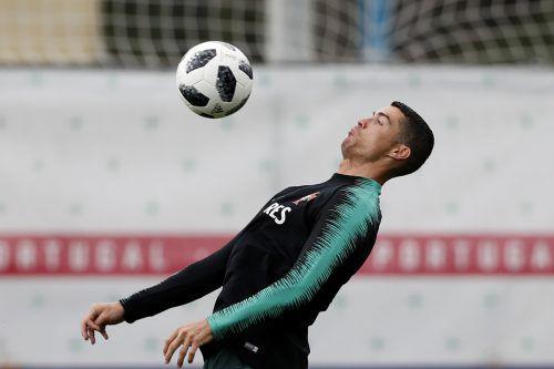 Cristiano Ronaldo möchte bei seiner vierten Weltmeisterschaft mit Portugal Geschichte schreiben. ap