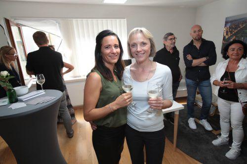 Daniela Lampert (l.) und Sylvia Domig.