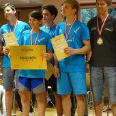 Dornbirns Kletterer mit Erfolg bei Schul-Olympics