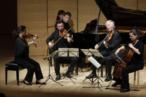 Das Elias Quartett und Paul Lewis boten im Angelika-Kauffmann-Saal ein Traumniveau in still leuchtender, innerer Schönheit. Schubertiade