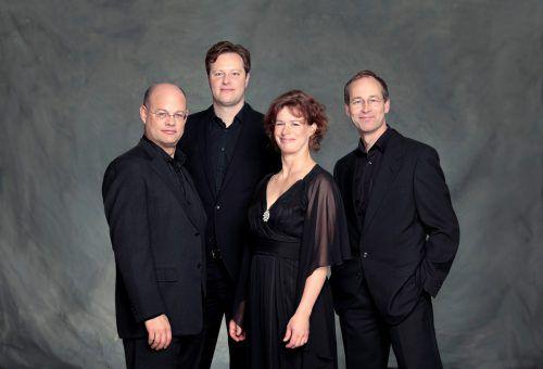 Das Mandelring Quartett eröffnet dieSchubertiade 2018 in Schwarzenberg. uwe arens