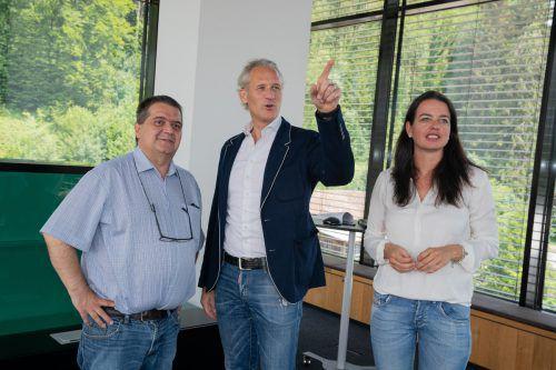 Das neue Headquarter im Dornbirner Steinebach wurde nun bezogen.
