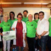 Bei Loufa und Healfa kamen 11.500 Euro zusammen