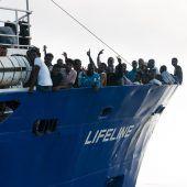 Rettungsschiff Lifeline wird festgesetzt