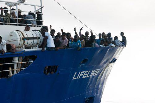 """Das Rettungsschiff """"Lifeline"""" wird nun beschlagnahmt. afp"""