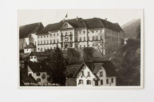 Das Schloß Gayenhofen diente zur damaligen Zeit als Kaserne für die Bundesheer-Garnison, die am 14. März in die Wehrmacht eingegliedert wurde. Archiv