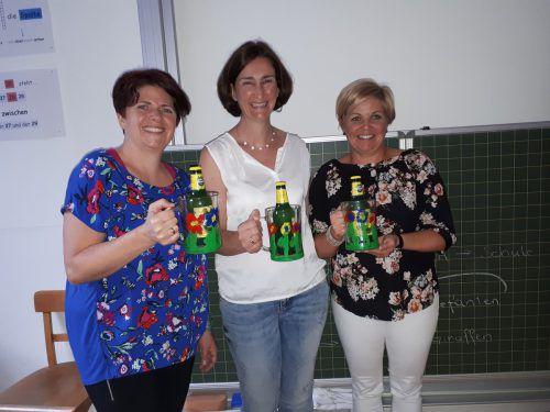 Den Mitarbeiterinnen Barbara Küng, Karin Batlogg und Nicole Dobler wurde für ihr Engagement gedankt. SW