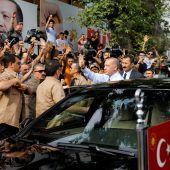 Präsident Erdogan nicht wegzuwählen