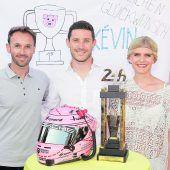Der Le-Mans-Pokal steht nun in Höchst