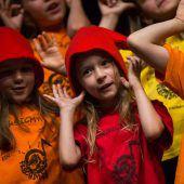 <p>Der Frechdax-Chor sorgte für den musikalischen Rahmen.</p>