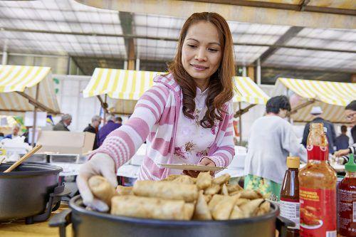 Der Markt der Kulturen findet am Samstagvormittag statt. Gemeinde