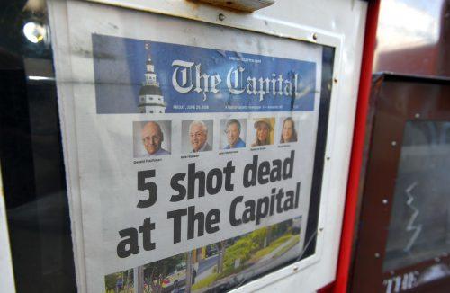 Der mutmaßliche Täter, Jarrod Warren R., hat bei einem Angriff auf eine Zeitungsredaktion fünf Menschen getötet. Er wurde festgenommen. AFP, AP