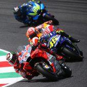 Lorenzo siegte, Marquez stürzte
