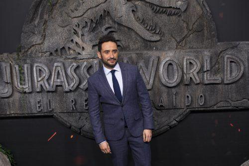 """Der spanische Regisseur J. A. Bayona setzt in """"Jurassic World: Das gefallene Königreich"""" auf eine umgekehrte Dramaturgie: erst Bombast, dann Spannung. AP"""