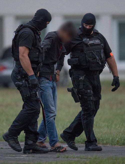 Der tatverdächtige Ali B. ist in Deutschland in U-Haft. AFP
